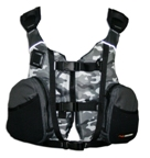 Sand Camo Fishing PFD - small